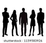 vector silhouettes men and... | Shutterstock .eps vector #1159583926