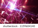 abstract pink background.... | Shutterstock . vector #1159604140