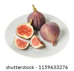 fresh raw ripe figs in ceramic... | Shutterstock . vector #1159633276