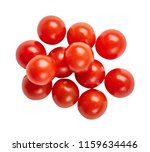 fresh ripe tomatoes isolated on ... | Shutterstock . vector #1159634446