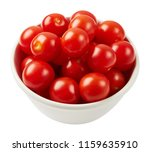 fresh ripe tomatoes in ceramic... | Shutterstock . vector #1159635910