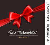 frohe weihnachten   merry... | Shutterstock .eps vector #1159636996