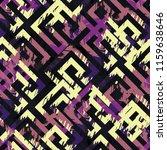 seamless pattern grunge design. ... | Shutterstock . vector #1159638646