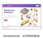 warehouse  storage  logistics...   Shutterstock .eps vector #1159640836