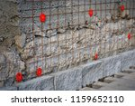 preparation of the surface wall ... | Shutterstock . vector #1159652110