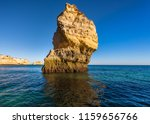algarve seashore and caves.... | Shutterstock . vector #1159656766