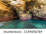 algarve seashore and caves.... | Shutterstock . vector #1159656769