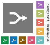 merge arrows flat icons on...   Shutterstock .eps vector #1159660060