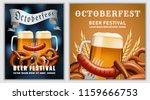 beer fest october german banner ... | Shutterstock .eps vector #1159666753