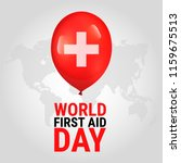 world first aid day. global... | Shutterstock .eps vector #1159675513