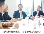 young confident politician in...   Shutterstock . vector #1159679590