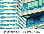 modern office building on a...   Shutterstock . vector #1159687189