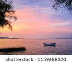 colorful adriatic sunset ... | Shutterstock . vector #1159688320