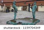 prague  czech republic   feb 11 ...   Shutterstock . vector #1159704349