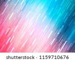 light blue  red vector cover... | Shutterstock .eps vector #1159710676