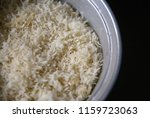 indian basmati rice cooked in a ... | Shutterstock . vector #1159723063