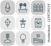 farm icons set with tree  park... | Shutterstock .eps vector #1159729219