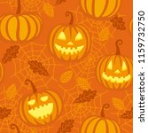 autumn seamless pattern with...   Shutterstock .eps vector #1159732750