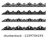 vintage ornament seamless... | Shutterstock .eps vector #1159734193
