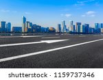 the skyline of the urban...   Shutterstock . vector #1159737346