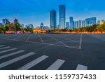 prospect of expressway asphalt... | Shutterstock . vector #1159737433