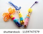 worry doll as background  ... | Shutterstock . vector #1159747579