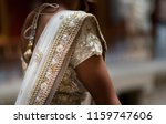 indian bridal ghoonghat... | Shutterstock . vector #1159747606