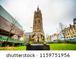 belfry of ghent and spring of... | Shutterstock . vector #1159751956