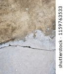 cracked concrete road texture | Shutterstock . vector #1159763533