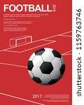soccer football poster vestor...   Shutterstock .eps vector #1159763746