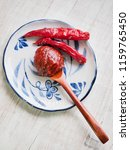korean sources red pepper paste ...   Shutterstock . vector #1159765450