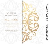 wedding invitation templates.... | Shutterstock .eps vector #1159773943