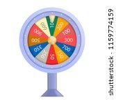 colorful lucky casino wheel...   Shutterstock .eps vector #1159774159