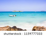 beauty the sea in the summer...   Shutterstock . vector #1159777333