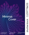 cover design with abstract... | Shutterstock .eps vector #1159778653