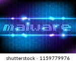 abstract  text  malware... | Shutterstock .eps vector #1159779976