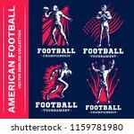 american football emblem...   Shutterstock .eps vector #1159781980