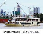 river boat tour bangkok... | Shutterstock . vector #1159790533