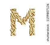 alphabet bullet set letter m...   Shutterstock .eps vector #1159807126