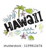 tee print with slogan.... | Shutterstock .eps vector #1159812676