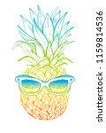 vector illustration  hand drawn ... | Shutterstock .eps vector #1159814536