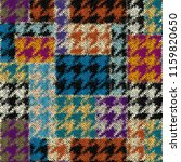 seamless hounds tooth pattern.... | Shutterstock .eps vector #1159820650