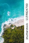 the coast line of colombia's... | Shutterstock . vector #1159824700