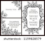 vintage delicate greeting... | Shutterstock .eps vector #1159828579