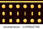 gold coin frames animation of...