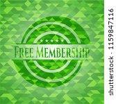 free membership realistic green ... | Shutterstock .eps vector #1159847116