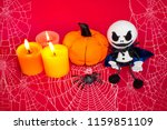 Postcard For Halloween  Candles ...