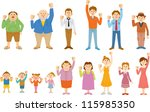 people | Shutterstock .eps vector #115985350