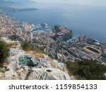 view from the cliff to the... | Shutterstock . vector #1159854133