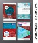 flyer design business annual... | Shutterstock .eps vector #1159857196